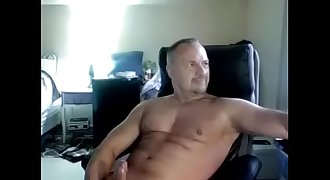 Straight USA Daddy Cums on Cam [File - HC001]