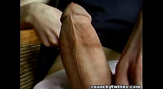 Nice BIG DICK From A Skinny Teen Boy